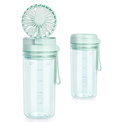 🥇 Opard Water Bottle with Fan