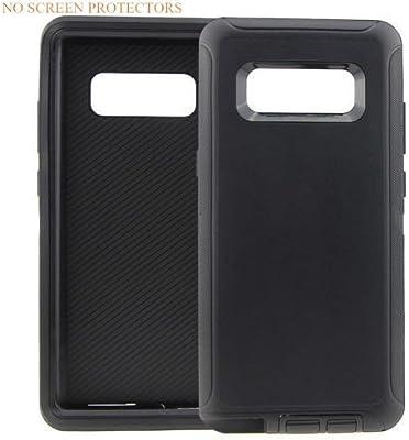 OrLine/ /Funda de cintur/ón para el Samsung Galaxy S8/Funda Piel Holster Fieltro Funda Case Cover con Cierre magn/ético Mano.