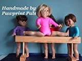 Best USA Pals Dolls - Handmade in USA! Wood Gymnastic Exercise Balance Beam Review