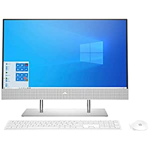 HP All-in-One 23.8-Inch(60.5 cm) FHD All in One Desktop with Alexa Built-in(10th Gen Intel Core i3-1005G1/8GB/512 GB SSD…