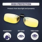 KLIM Blue Light Blocking Glasses - Reduce Eye