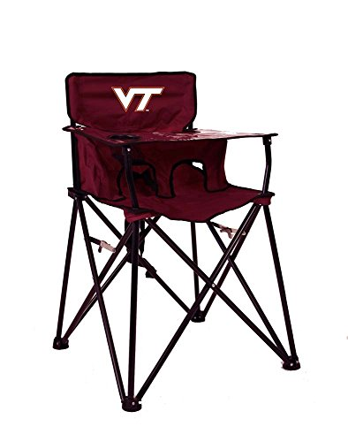Rivalry Distributing RIV-RV424-1700 Virginia Tech Hokies NCAA Ultimate Travel Child High Chair by Rivalry Distributing