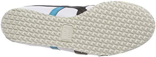 Zapatos 100 Asics White Black Blanco unisex AdZaW6