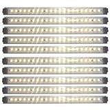 Inspired LED - Kitchen Light - Pro Series - LED Light Panels 24 Watts 12V DC Warm White 3000K 145 lm/ft 10 Panel Pack
