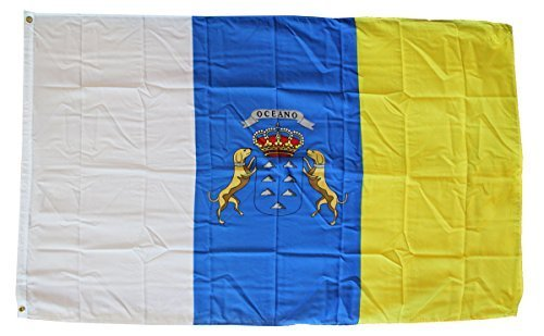 Canary Islands - 3' x 5' Polyester World Flag by Flagline
