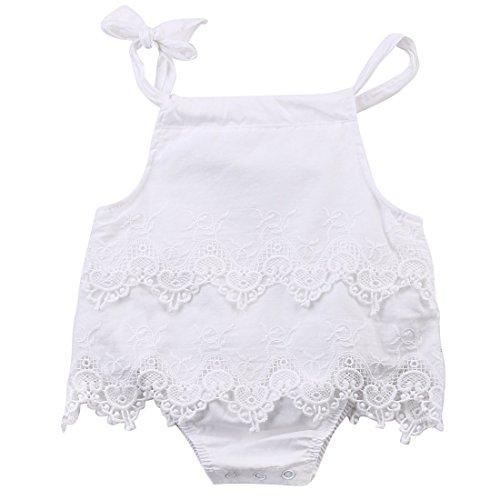 AILOM Newborn Infant Baby Girls Summer Lace