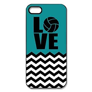 Volleyball Logo Blue-green Fashion Shell Protector For Iphone 6 4.7 Inch Case Cover