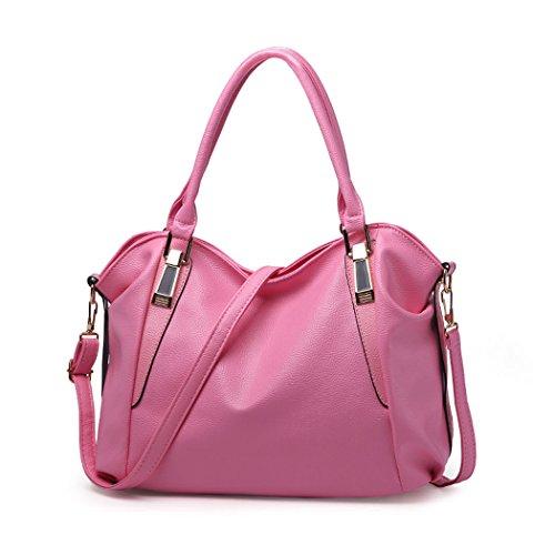 Para mujer Carteras de mano Bolsos bandolera Bolsos bolera Bolsos maletín Cuero Piszkosfehér rosa