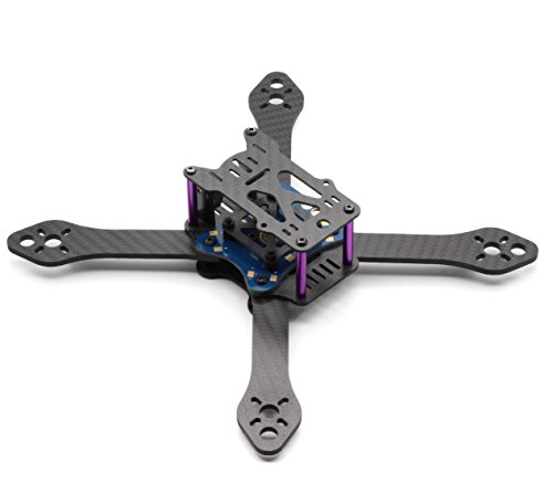 Usmile 220mm Carbon Fiber Quadcopter Quad X Frame for FPV Drone racing like QAV210 QAV250 QAV-R QAV-X Martian II RX220