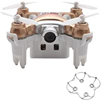 Zczhang fish858 Cheerson CX-10WD 2.4G FPV WiFi Quadcopter 0.3MP Camera (No Remote Control) (Gold)