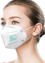 Powecom KN95 Face Mask Protective Masks (Non-Medical) Filter Efficiency 99.2% FDA Authorized - 10 pc