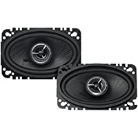 Kenwood KFC-X463C Excelon 4x6 2-Way Speaker System - Pair (Black)