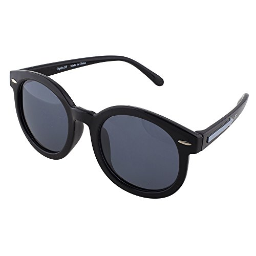 Flexible Kids Sunglasses - Black Silicon Shades by Optix - Round On Which Sunglasses Suits Face