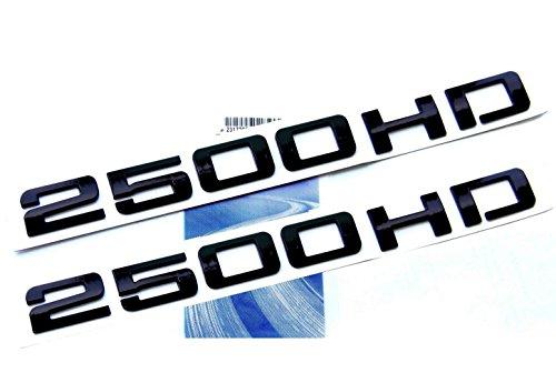 black 2500hd emblem - 1