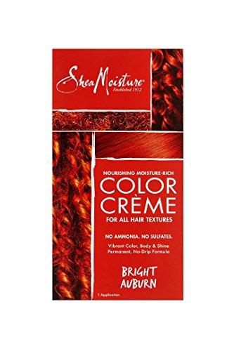 Shea Moisture Nourishing Rich System Bright Auburn 1 Application Hair Color for Unisex (System Hair)