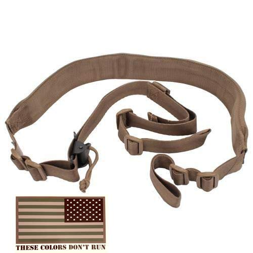 Viking Tactics Original Padded 2 Point Sling (Coyote) ()
