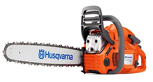 New HUSQVARNA 460 Rancher 24'' 60.3cc 3.62HP Gas Powered Chain Saw XTorq Chainsaw by Husqvarna