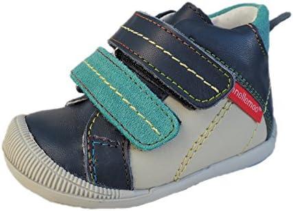 ennellemoo® -Baby-Kinder-Jungen-echt Leder-Boots-Schuhe-Sneaker-Lauflernschuhe-Halbschuhe-Klettverschluss-Premiumschuhe-Vollleder.