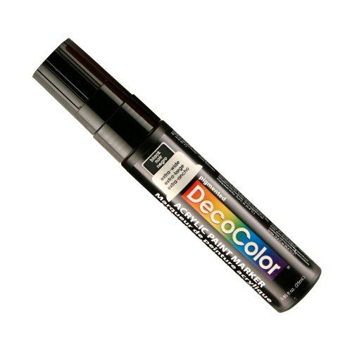 (Uchida Of America 415-C-1 15 MM Decocolor Acrylic Marker, Black)