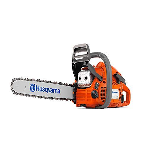 (Husqvarna 455 Chainsaw X-Torq 55cc 18-Inch Bar Fast Start Low Vibration (965030292))