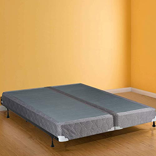 Spinal Solution4-InchFully AssembledLow Profile Box Spring Foundation For MattressKing