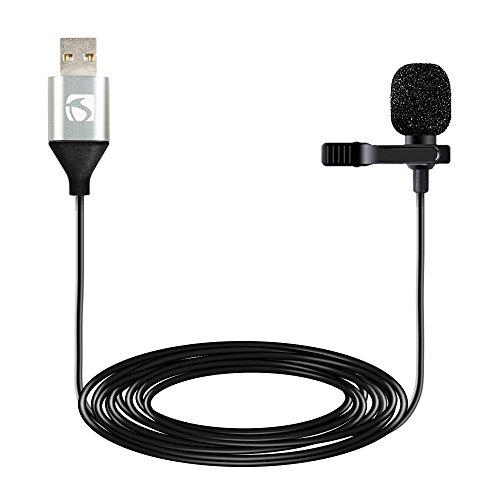 Industry Standard Sound ISSLM420H Omni-Directional Premium USB Lapel Microphone
