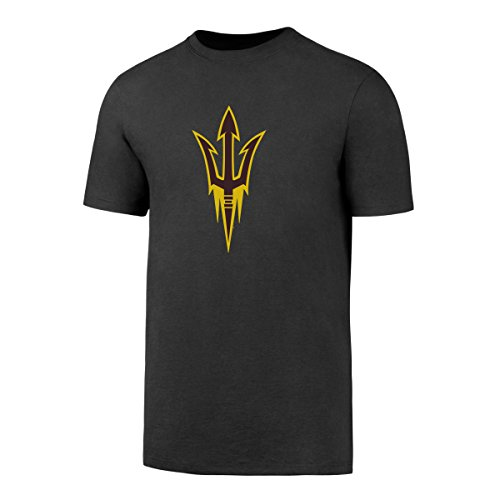 OTS NCAA Arizona State Sun Devils Men's Rival Tee, Charcoal, Large (Devils Mens Basketball)