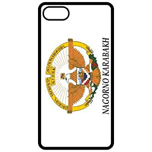 Nagorno Karabakh Coat Of Arms Flag Emblem Black Apple Iphone 5 Cell Phone Case - Cover