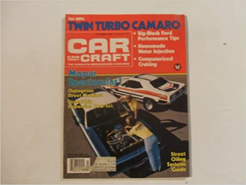 Car Craft Magazine March 1980 (140 MPH TWIN TURBO CAMARO - MOPAR SPECTACULAR! STREET/ STRIP SUSPENSION HOW-TOS, VOLUME 28 NUMBERR 3): JON ASHER: ...