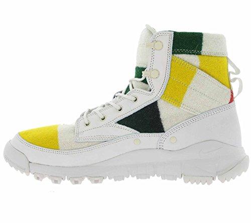 Nike Mens Sfb Leather 6 Nsw Np Qs, Bianco / Nero