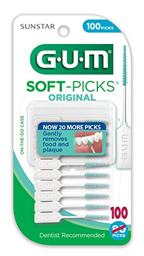 GUM Soft-Picks Dental Picks Original, 100 Count