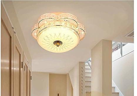 Plafoniere Da Soffitto In Cristallo : Cg lampada da soffitto a led in cristallo dorato plafoniera