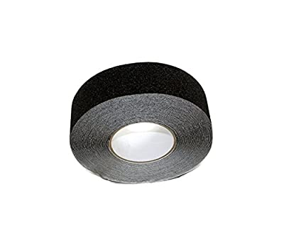 ABN Adhesive Non-Slip Stair Tread Safety Tape Strip, 60 Grit, 60' Feet Long – Step Grip for Non-Skid Walk