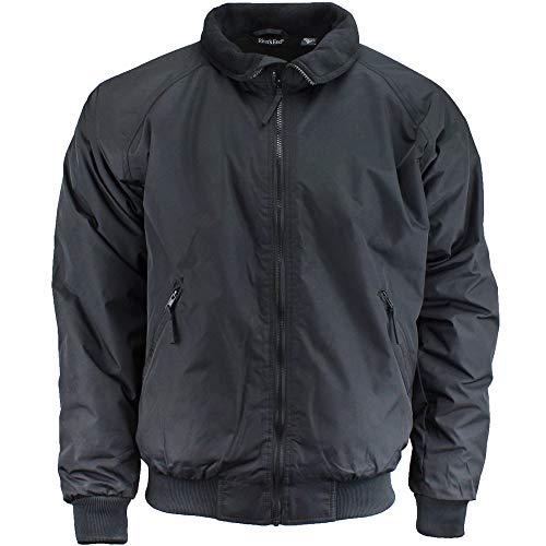 Rivers' End Mens Bomber Jacket Athletic Jacket Black L ()