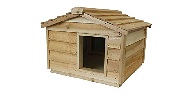 Large Heated Cat House Pet Supplies