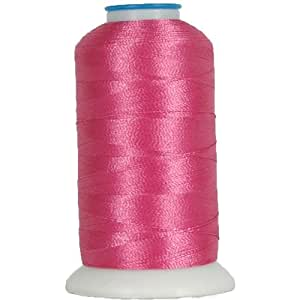 Polyester Machine Embroidery Thread By the Spool No. 674 - Hot Pink - 1000M - 200 Colors Available