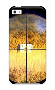 Hard Plastic Iphone 5c Case Back Cover,hot Sniper Crosshairs Case At Perfect Diy
