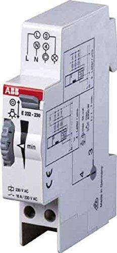 Abb-entrelec e232e-230n - Minutero escalera electronico e232e-230n: Amazon.es: Industria, empresas y ciencia