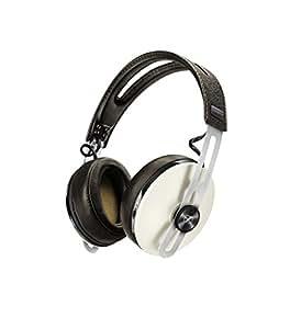 Sennheiser Momentum  M2-AEBT Ivory - Auriculares de diadema cerrados inalámbricos (BT APTX / NFC, cancelación de ruido, Longitud del cable 1.4m (desmontable)), Marfil