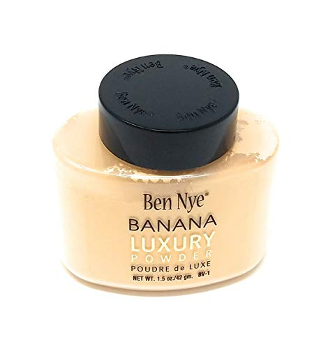 Ben Nye Authentic Luxury Banana Powder Bottle Face Makeup Kim Kardashian, 1.5 ()