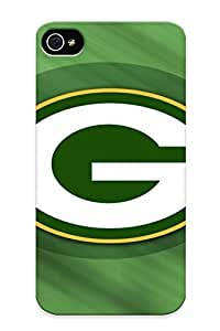 Creatingyourself Top Quality Case Cover For Iphone 4/4s Case With Nice Green Bay Packers Nfl Football Rg Appearance