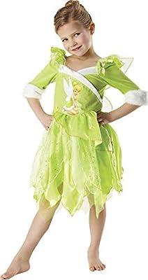 Peter Pan - Disfraz de Hada Campanilla de Invierno para niña ...