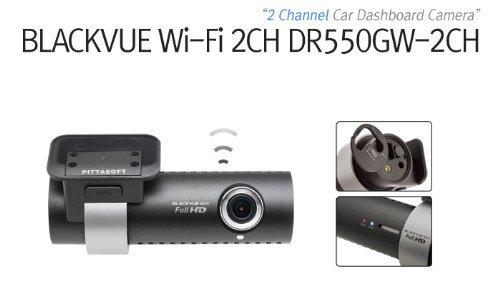 BlackVue Wi-Fi 2 Channel DR550GW-2CH 16GB, Car Black Box/Car