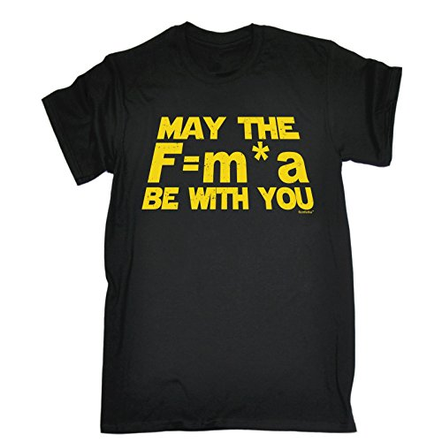 MAY THE F=M*A BE WITH YOU - NEWTONS - Funny Big Bang Theory
