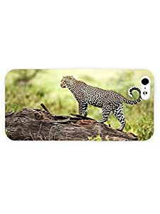 3d Full Wrap Case for iPhone 5/5s Animal Leopard99 wangjiang maoyi