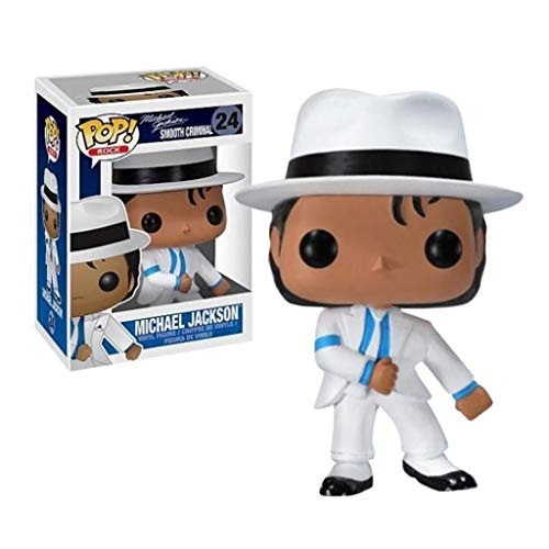 YYBB ¡Popular!Rock Star Michael Jackson Smooth Criminal Exclusivo Vinilo Figura Crafts Figuras Coleccion Figurines