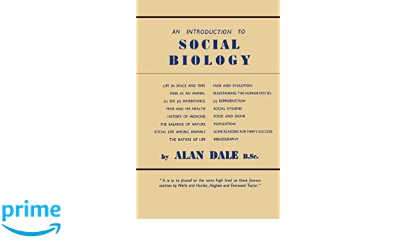 An introduction to social biology