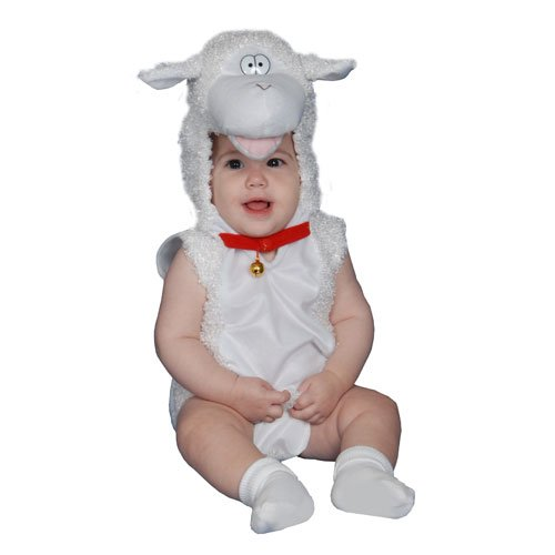 [Dress Up America Cute Little Baby Lamb Costume - 24 Months] (Lamb Costumes For Toddler)
