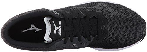 Shoes Shadow Silver Running Dark Mizuno Running Wave Black Men's Sonic qwxS1w