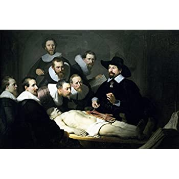 Amazon Painting Poster The Anatomy Lesson Of Dr Nicolaes